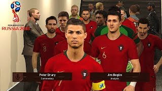 URUGUAY vs PORTUGAL - FIFA World Cup Russia 30 June 2018 Gameplay