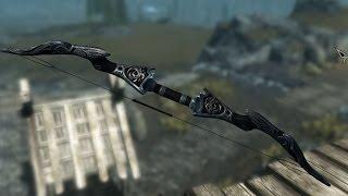 Skyrim 23 эбонитовый лук на первом уровне.