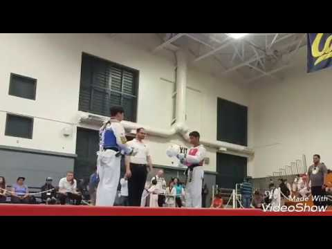 48th Annual UC Berkeley Open Taekwondo Championships 2 (Christopher vs Brian) 4/29/17