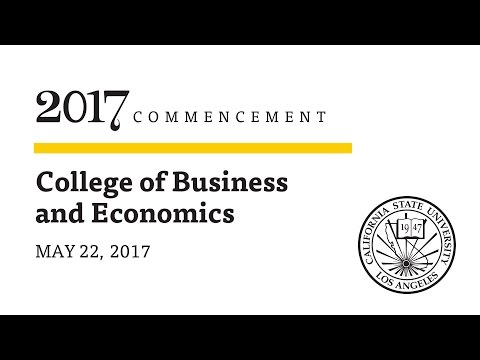 Ceremony 7  ǀ  8 a.m.  ǀ  College of Business and Economics