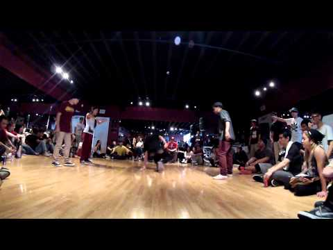 THE CLAIM TO FAME 2VS2 ALL STYLES BATTLE COSTA MESA/CALIFORNIA 2013