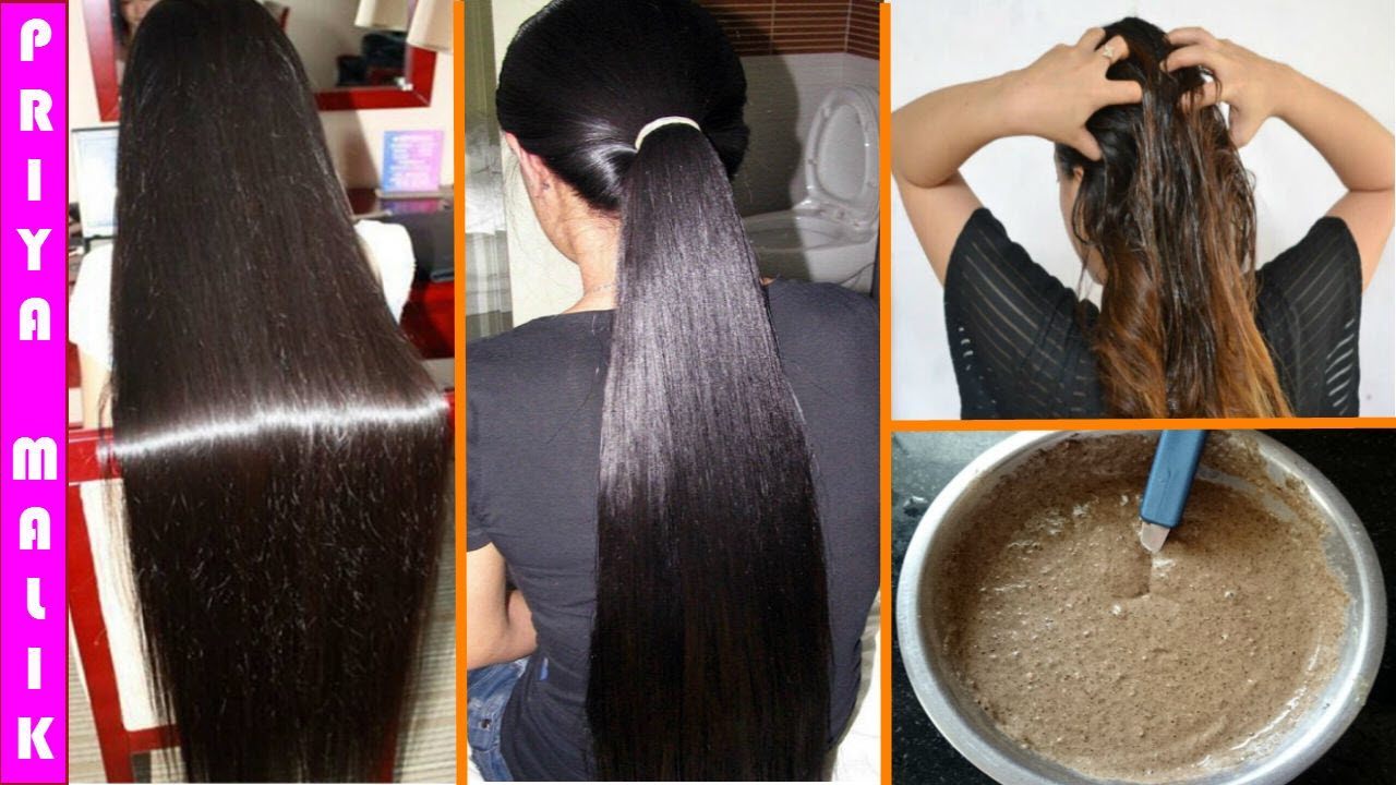 Super Strong Long Thick Black Hair Growth Turn Thin To Naturally Homemade Mask You