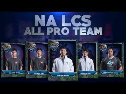 NA LCS ALL PRO TEAM - top 5 OP NA LCS Players of Summer 2015 as voted by fellow Players!
