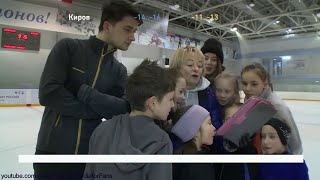 Alina Zagitova Olympic 2018 SP N Antipina Interview A