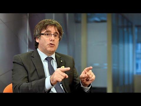 Catalonia: Carles Puigdemont demands to return home