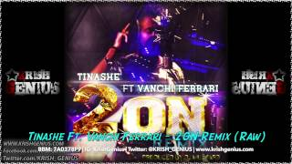 Tinashe Ft. Vanchi Ferrari - 2ON Remix (Raw) June 2014