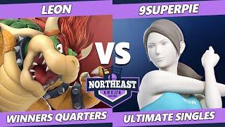 Northeast Arena Winners Quarters - Leon (Bowser) Vs. 9superpie (Wii Fit Trainer) Smash Ultimate SSBU