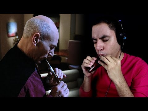 The Inner Light - Star Trek: TNG - Ocarina/Guitar Cover || David Erick Ramos