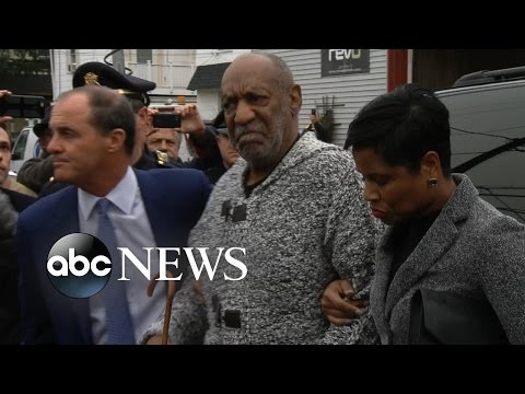 Bill Cosby Arraigned in Court on a Charge of Aggravated Indecent Assault