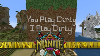 Minecraft: Mianite - PLAYING DIRTY PRANK & BETS ENCHANTMENT LUCK YET! [86]
