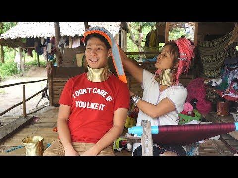 泰国清迈参观长颈族 VISITING LONG NECK TRIBE IN CHIANG MAI THAILAND