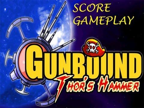 Gunbound Thor Hammer Score Gameplay