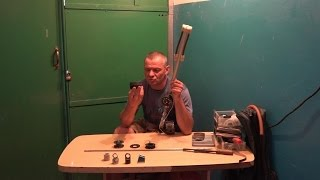 Ремонт старого ружья для подводной охоты.
