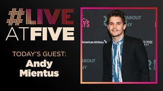 Broadway.com #LiveatFive with Andy Mientus