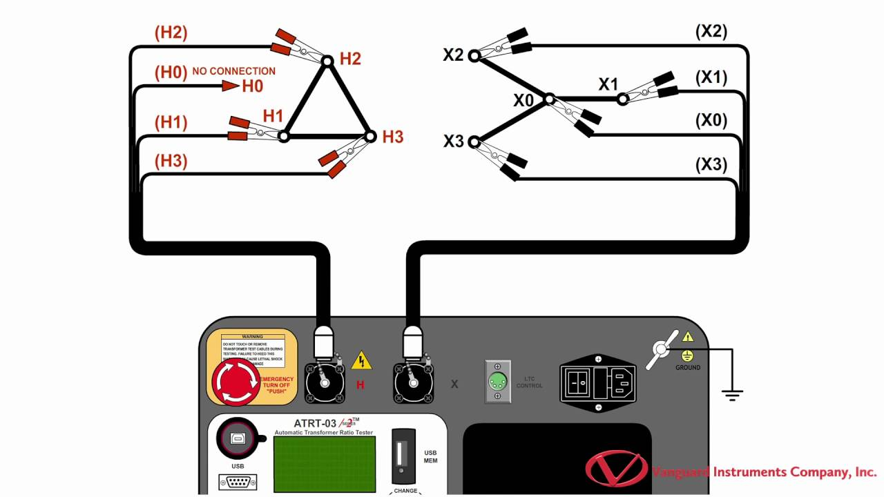 Insulation Resistance Tester Circuit Diagram Electrical Wiring Measurement Performing A Transformer Turns Ratio Test With The