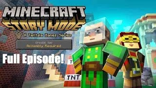 Minecraft Story Mode : Episode 2 Full Episode ( No Commentary )