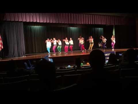 Monticello High School- Main Street Dance performance at Monti Idol