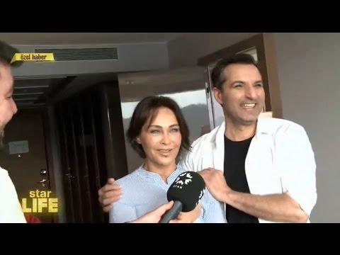 'Sen Olmazsan' klibin kamera arkası. Hülya Avşar & Rafet El Roman