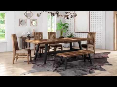 Urban Rustic Table Intercon Furniture