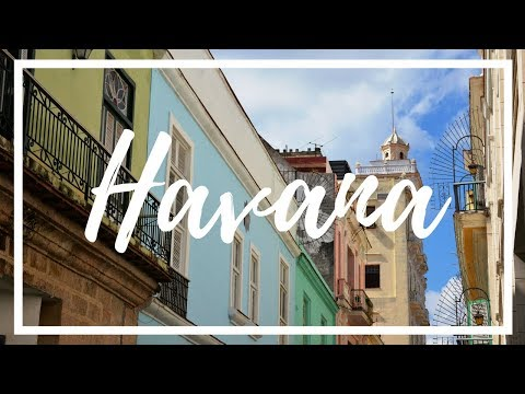 First time in Havana - CUBA DISCOVER THE LAND (4K)