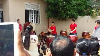 JAPAN TRADITIONAL MUSIC IN SRI LANKA.THAIKO.