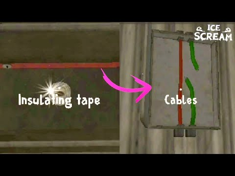 How to Find & Use the Insulating Tape ( Ice Scream )