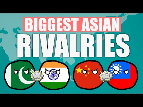 Biggest Country Rivalries in Asia