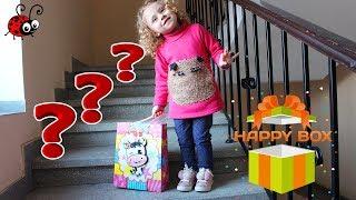 Surprize pe Scarile Blocului   Happy Box pentru Copii   Ridicam scarile si Strangem Surprizele