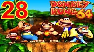 Let's Replay Donkey Kong 64 [German][101%][#28] Die Rache der Libelle!