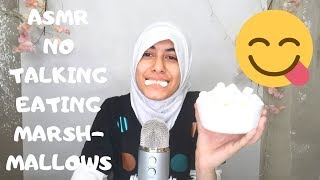 ASMR Marshmallow (EATING SOUNDS) No talking MimiWorld