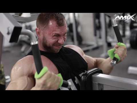 Milan Šádek: trénink v Olympia Fitness Opatov s Davidem Bednářem