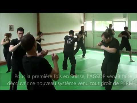 Stage Combat Russe Avril 2012 en Suisse
