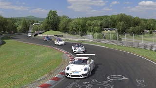 iRacing - Porshce iRacing Cup: Nurburgring Nordschleife - Industriefahrten | Race 2
