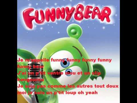 Music | Je m'appelle Funny Bear (avec parole) [Official]