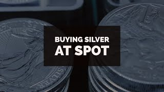Silver Spot Price Deals You Can Buy Now!