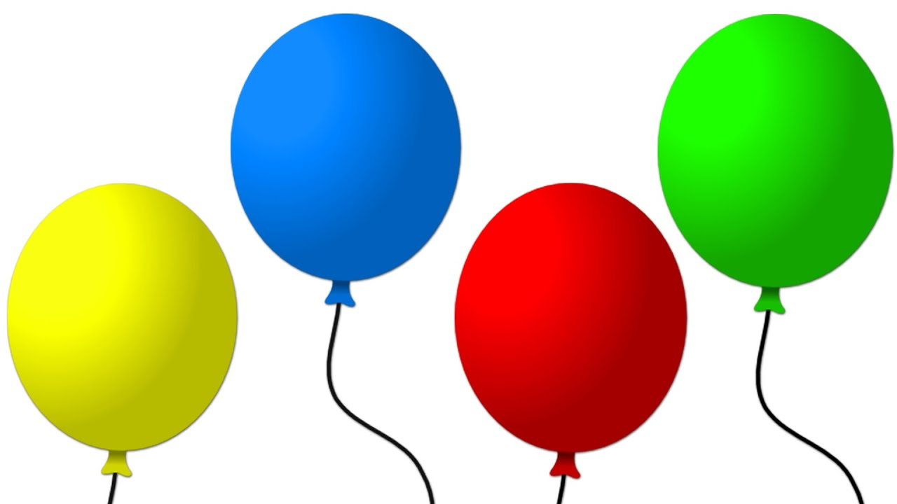 Super Simple Learning Colors Learn Basic Colours With Balloons For Kids Toddlers Babies