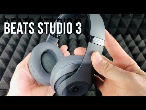 beats-studio3-wireless-over-ear-headphones---grey-unboxing