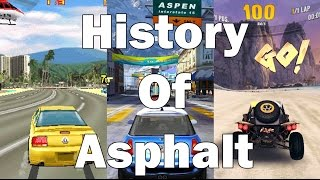 EVOLUTION OF ASPHALT MOBILE 2008 - 2017 (ANDROID, IOS & WINDOWS)