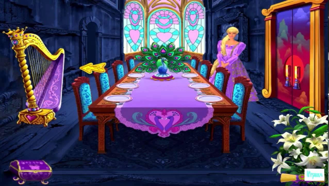 Игра barbie: салон красоты / barbie: beauty boutique (2007.