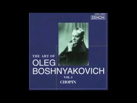 Oleg Boshnyakovich plays Chopin Nocturne op. 9 no. 1 (1977)