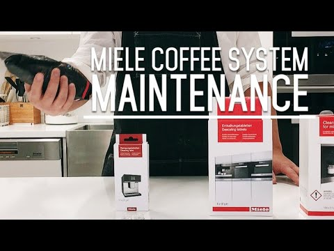How to Clean Coffee Machine - Miele Built - in Coffee systems