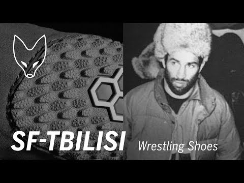 SF-TBILISI Wrestling Shoes