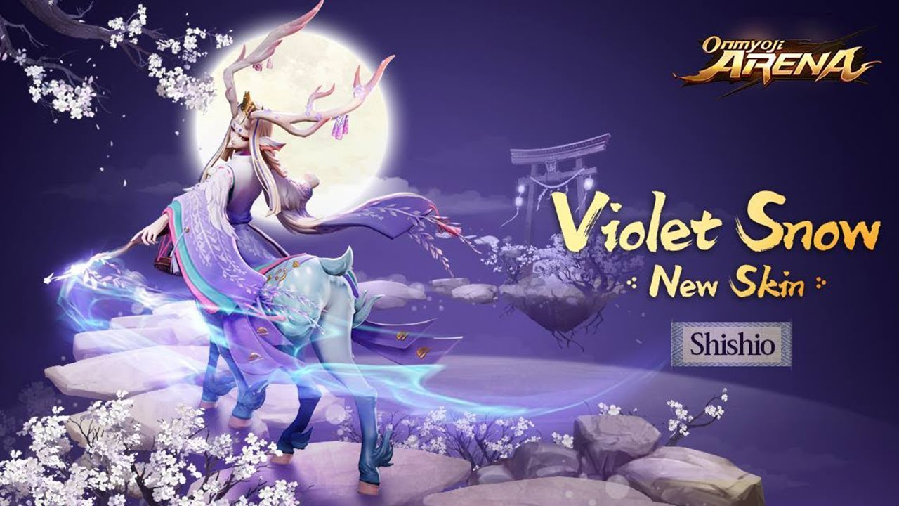 June 22nd Update Preview: Violet Snow Shishio Skin Preview