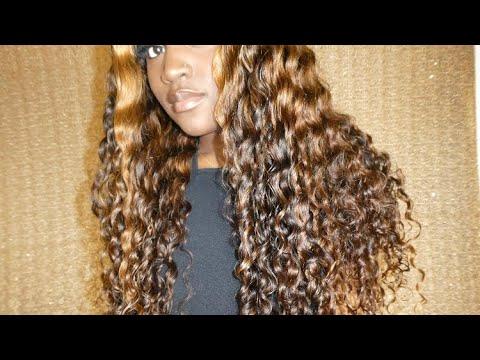 Curly Highlights w| Sugaplums Hair...