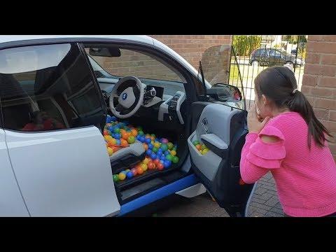 Driving the Car Full of Balls -Alex PRANK Naty