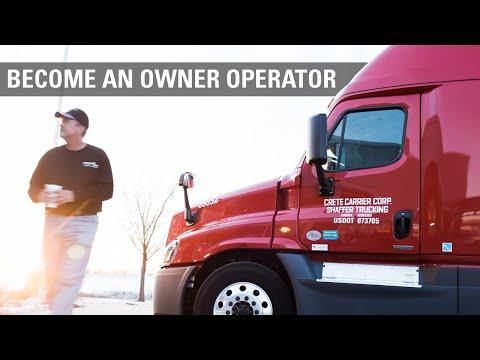 Becoming an Owner Operator at Crete Carrier