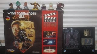 Unboxing! Wing Commander 3 Rare & Rush for Berlin Collector`s-Edition!