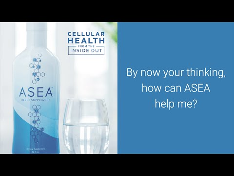 ASEA healing your body at the cellular level since 2005