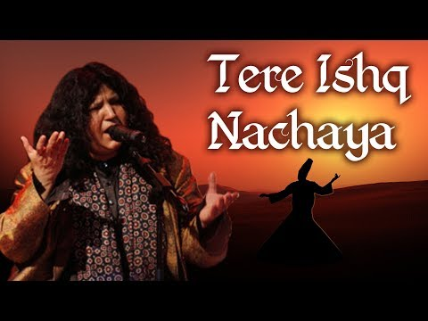 Tere Ishq Nachaya by Abida Parveen with Lyrics & English Sub Titles    Qawwali 2017   Sufi Songs