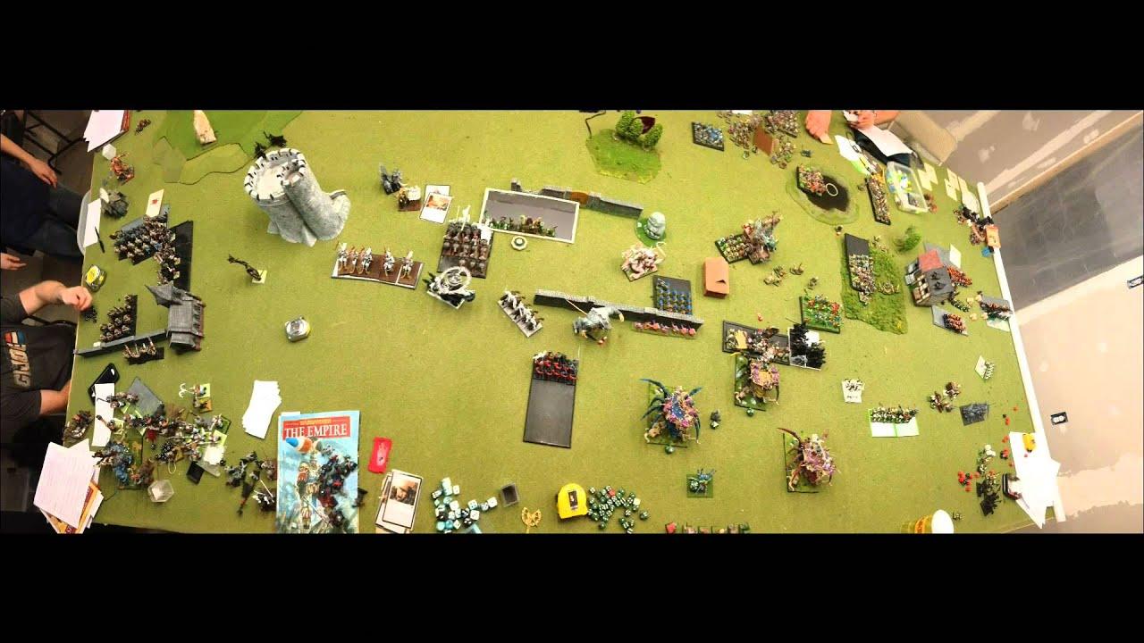 Gaming Mayhem Warhammer Fantasy Batrep Destruction vs Order